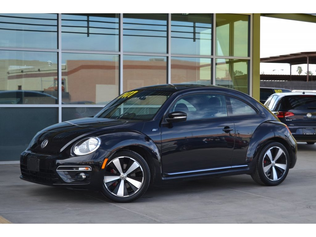 2014 Volkswagen Beetle Coupe 2.0T Turbo R-Line w/Sun/Sound (636716) Main Image