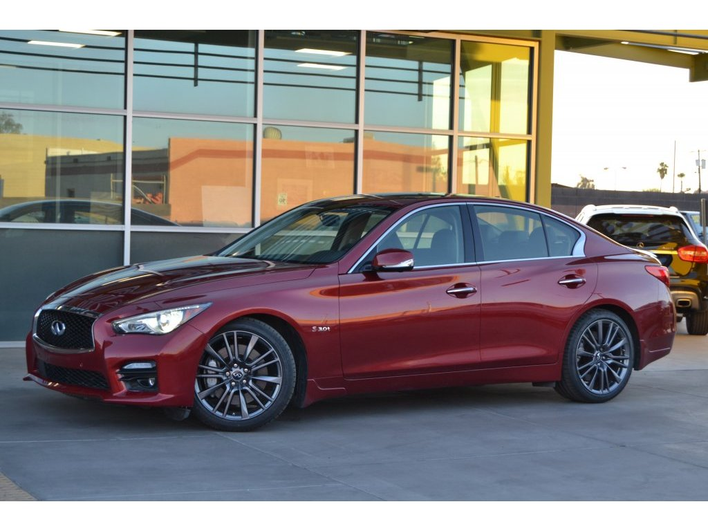 2016 Infiniti Q50 For Sale In Tempe Az Serving Scottsdale Used Remote Starter Lesueur Car Company Frame 30t Red Sport 400 421306 Main Image
