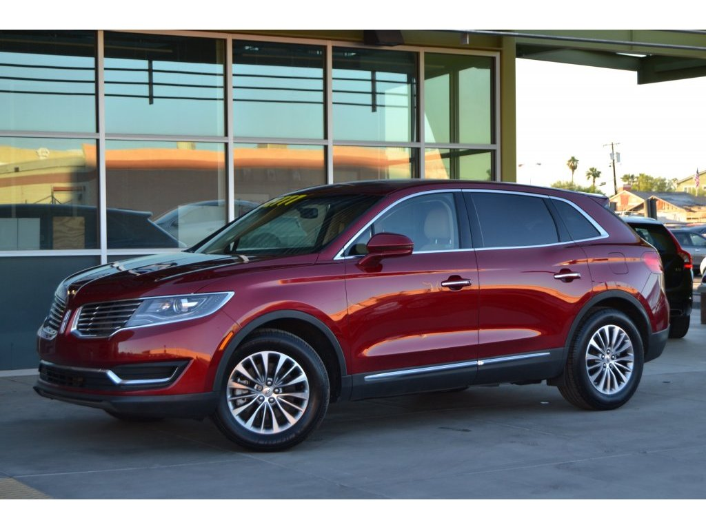 2017 Lincoln Mkx Select (L11186) Main Image